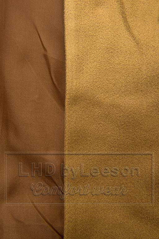 Elegancki płaszcz jesienny brązowy