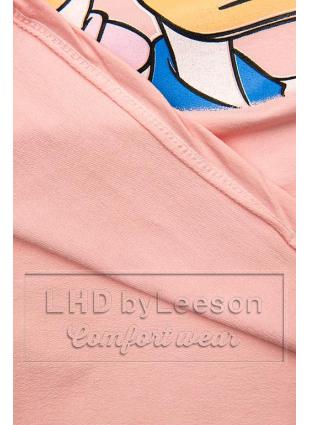 Różowa koszulka Paperina e Paperino