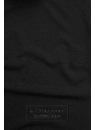 Czarna bluzka z długimi rękawami