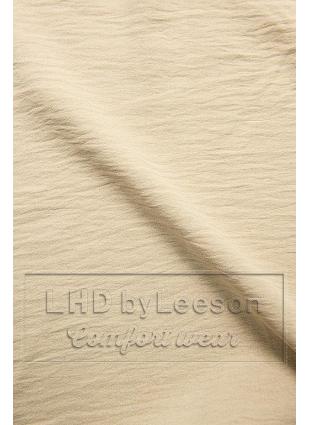 Beżowa bluzka z falbanką